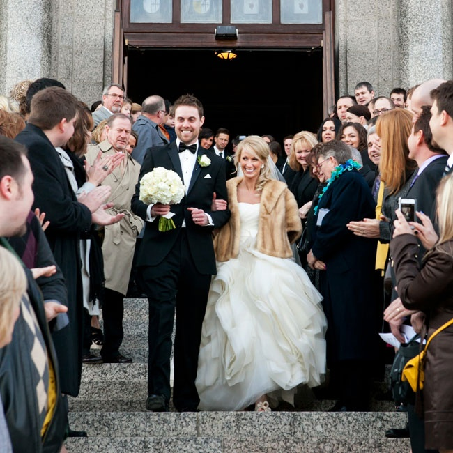 Lindsay and Alex wed at the Cathedral of Saint Paul followed by a grand ballroom reception.
