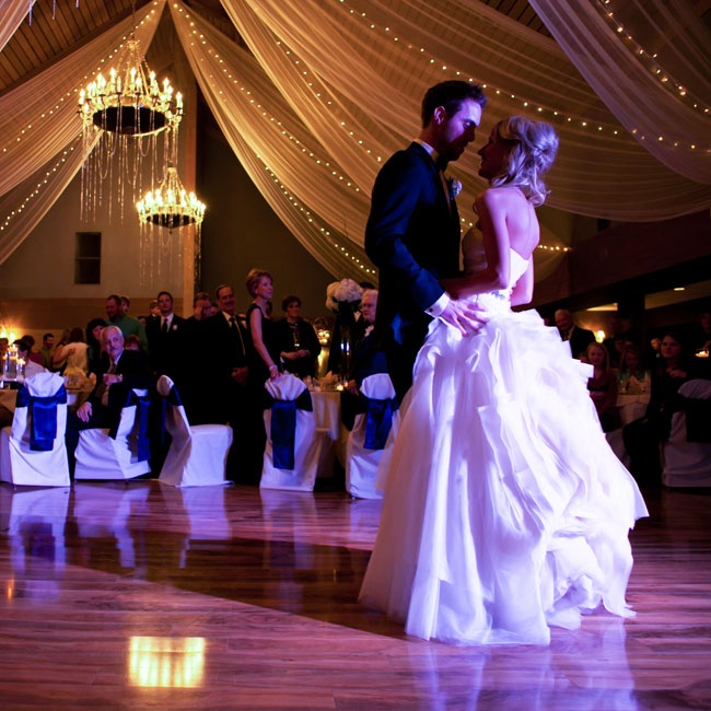 After meeting their freshman year of college, Lindsay and Alex celebrated their four years of dating with friends and family during their magical winter wedding.