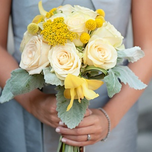 Bright Romantic Bridesmaid Bouquet