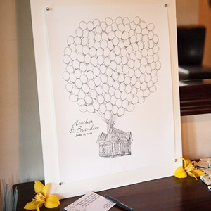 Handmade Guestbook Alternative