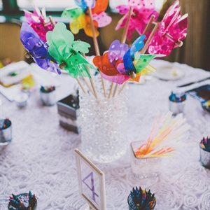 Fun Kid's Table Centerpieces