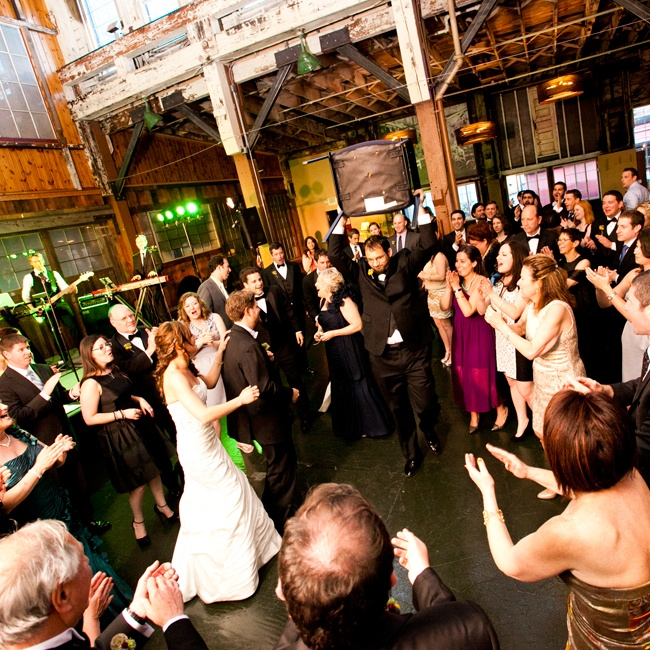 The couple and their guests danced into the night with high energy music performed by Vancouver's Famous Players Band.
