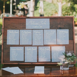Street Name Escort Cards