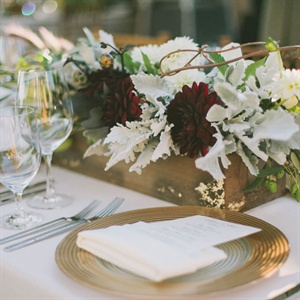 Golden Place Setting