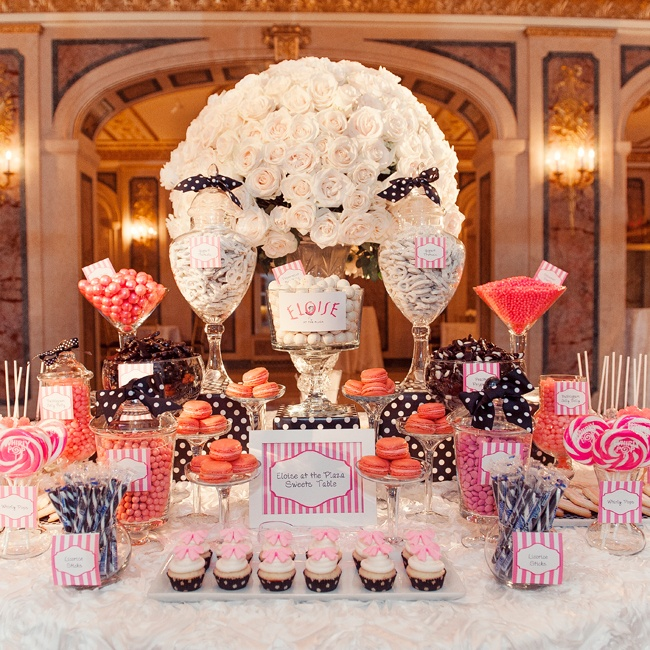 No wedding at the Plaza Hotel is complete without a nod to Eloise, especially when the bride actually lives there!
