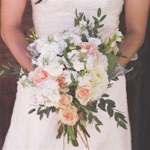 Romantic Local Bridal Bouquet