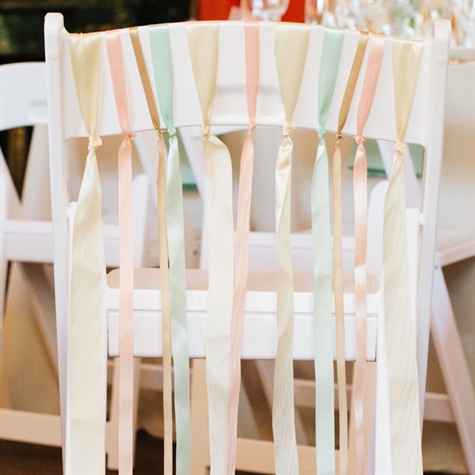 Pastel Chair Decor