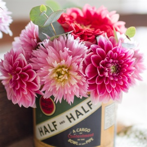 Vintage Can Centerpiece