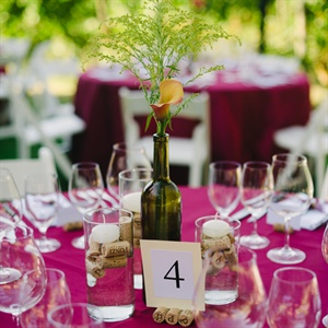 Vineyard-Inspired Centerpieces