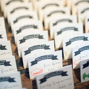 Country Fair Themed Escort Cards