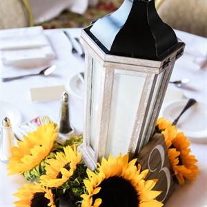 Rustic Lantern Centerpieces