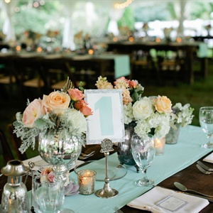 Romantic Vintage-Inspired Centerpieces