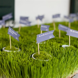 Potted Escort Cards