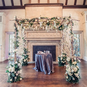 Beautiful Floral Huppah