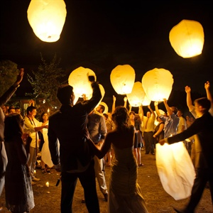 Floating Lantern Tradition