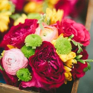 Vibrant Peony Bouquet