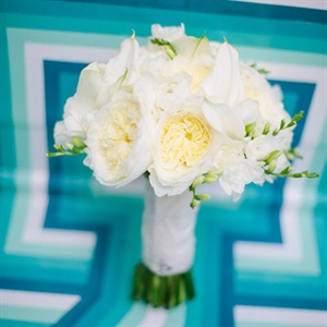 Traditional White Bridal Bouquet