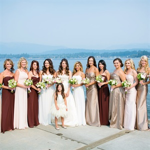 Formal Length Bridal Party Gowns