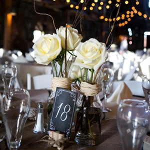 Vineyard-Inspired Chalkboard Table Numbers