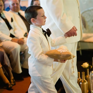 Formal White Ringbearer Attire