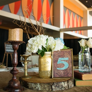 Vintage-Inspired DIY Centerpiece
