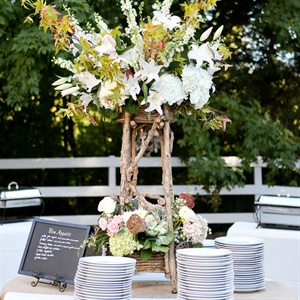 Rustic Reception Buffet