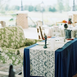 Patterned Sweetheart Table