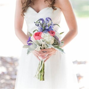 Bright Layered Bridal Bouquet