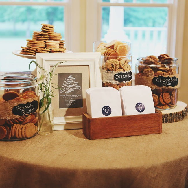 Guests were able to take home their choice of an array of delicious cookies.