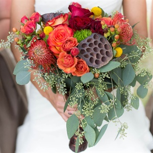 Rustic Autumnal Bridal Bouquet