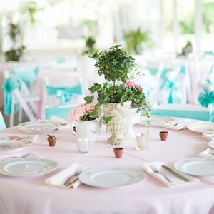 Garden-Inspired Reception