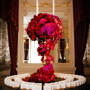 Lavish Red Floral Decor