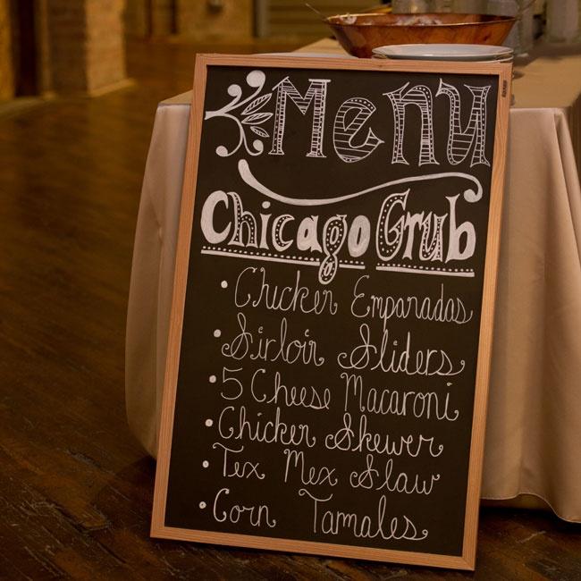 Comfort Food Wedding Menu: A Vibrant Modern Wedding In Chicago, IL
