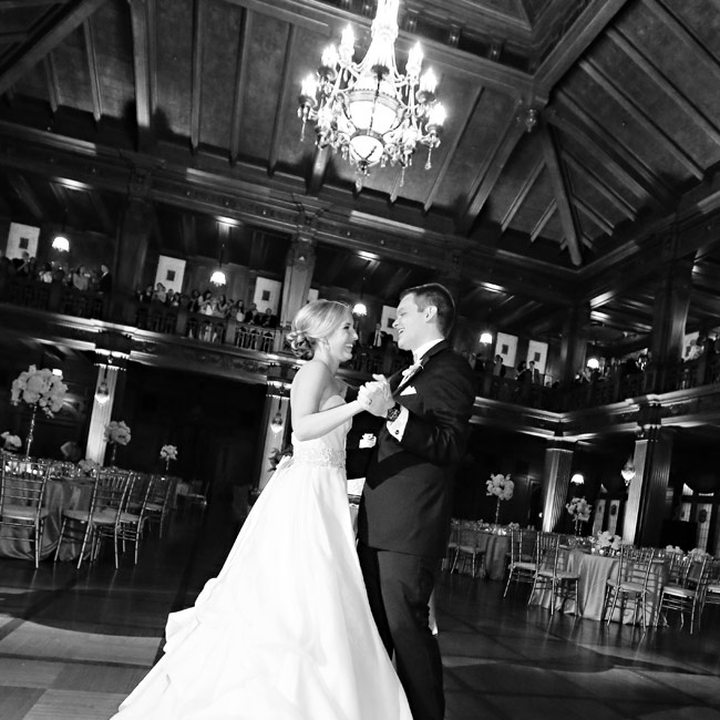 Allison and Brandon hired Zana-doo, a high energy dance band, to provide the music for their reception and get guests dancing.