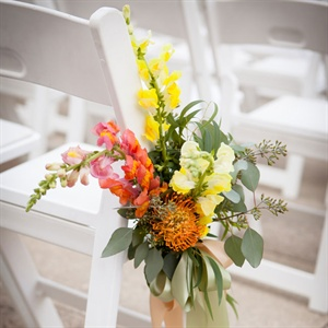 Bright Ceremony Florals