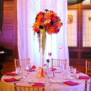 High Modern Centerpieces