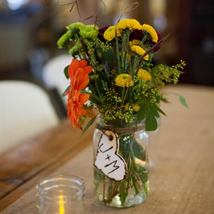 Wild Flower Centerpieces