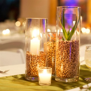 Simple Modern Centerpieces