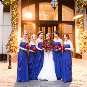 Festive Bridal Party Fashion