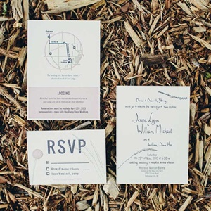 Custom Designed Invitation Suite
