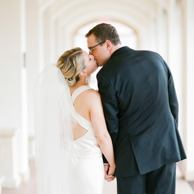 """I believe that the love between the couple sets the tone for the wedding. Remember the intention of the day and show graciousness towards your family, friends, and new partner."" says Bridget."