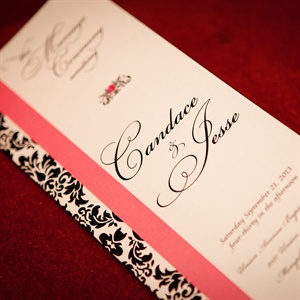 Pink and Black Damask Programs