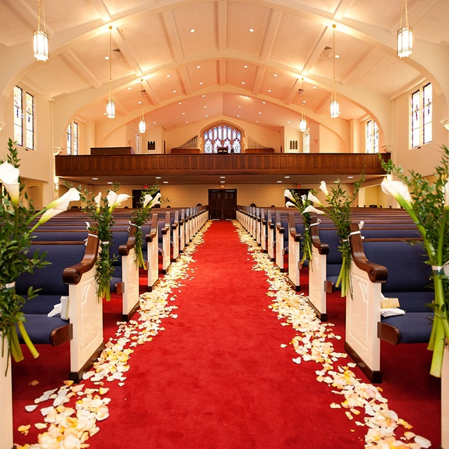 The Ceremony Was Held In Union Avenue Baptist Church In Memphis TN