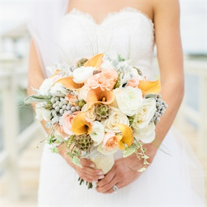 Elegant Textured Bridal Bouquet