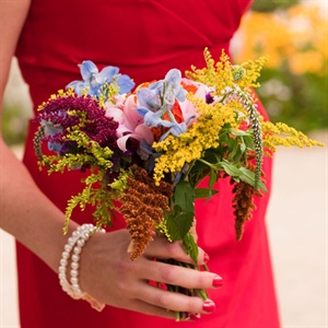 Wildflower Bridesmaid Bouquet
