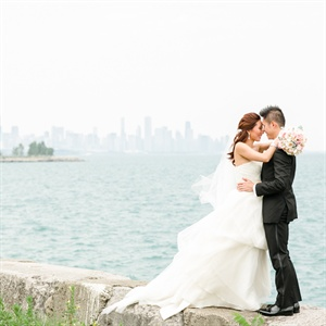 Promontory Point Park Wedding