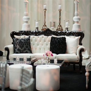 Black and White Lounge Furniture