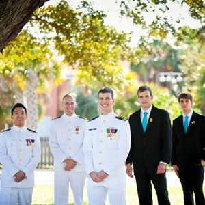 Military Groomsmen Look