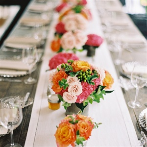Colorful Low Centerpieces