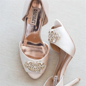 Blush Badgley Mischka Heels